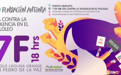 Conmemoración 7F: Día nacional contra la violencia en el pololeo