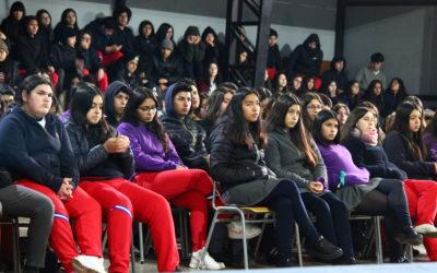 Charla Colegio Mistral Las Cabras