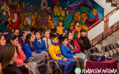 Charla en Liceo los Conquistadores, Penco