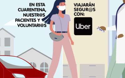 ¡Viajes gratis!: Uber Chile colabora con Fundación Antonia